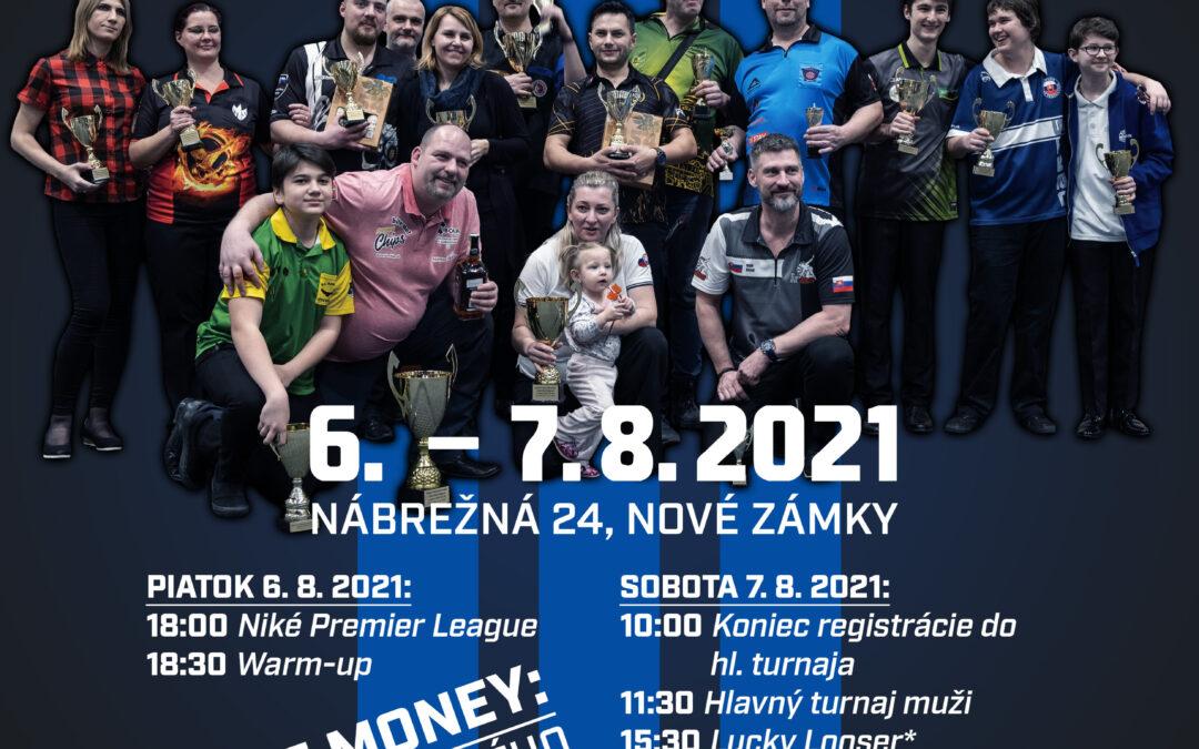 Majstrovstvá SR v klasických šípkach 6.-7.augusta v Nových Zámkoch