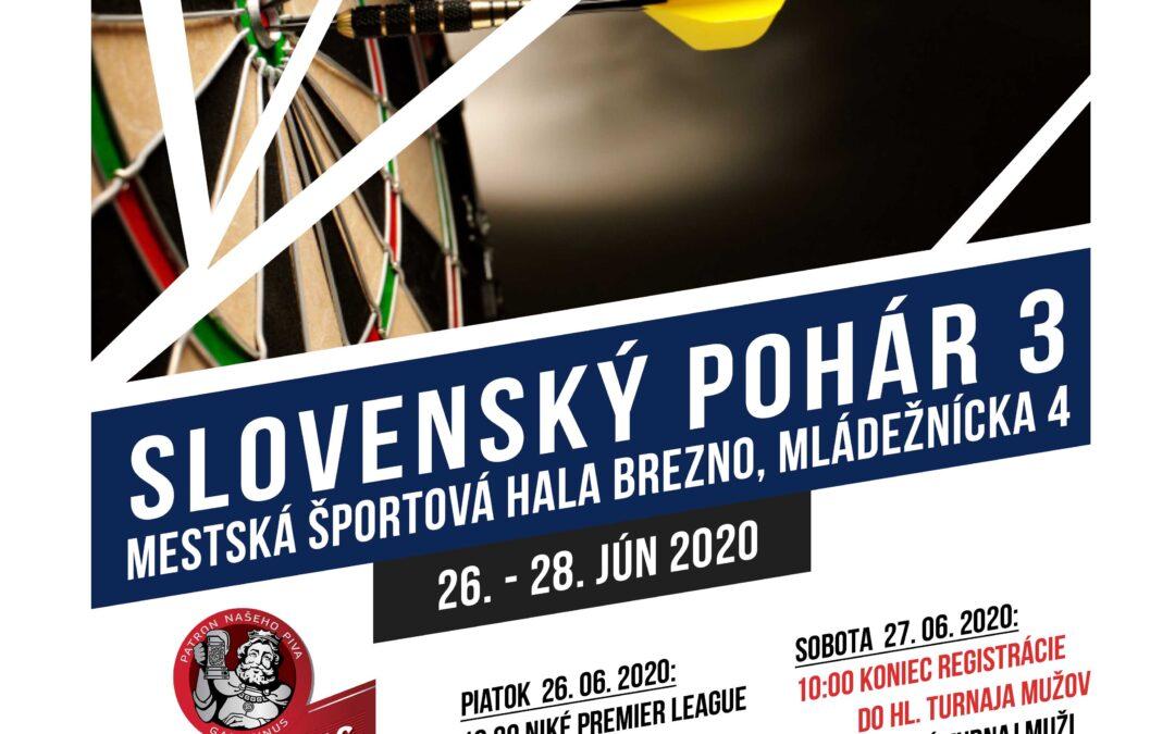 Slovenský pohár 3 v Brezne sa blíži